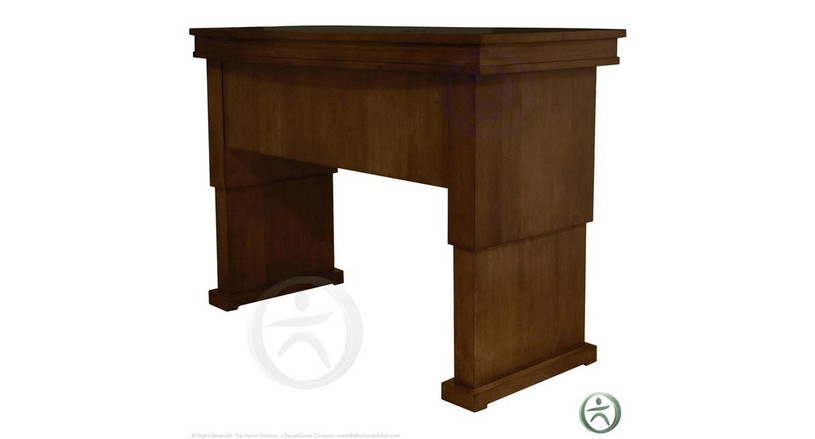 UPLIFT Traditional Executive Adjustable Height Desk (Discontinued)