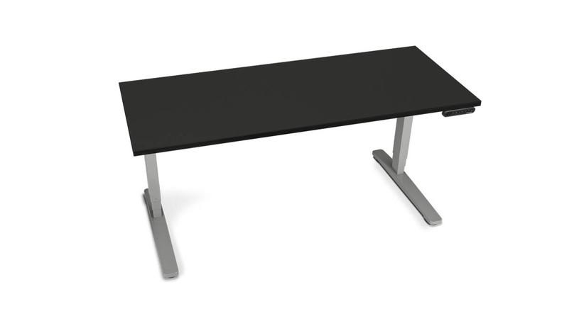 60x24 Black Laminate Desk