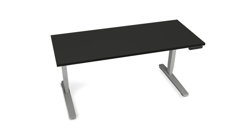 60x24 Black Laminate Desk