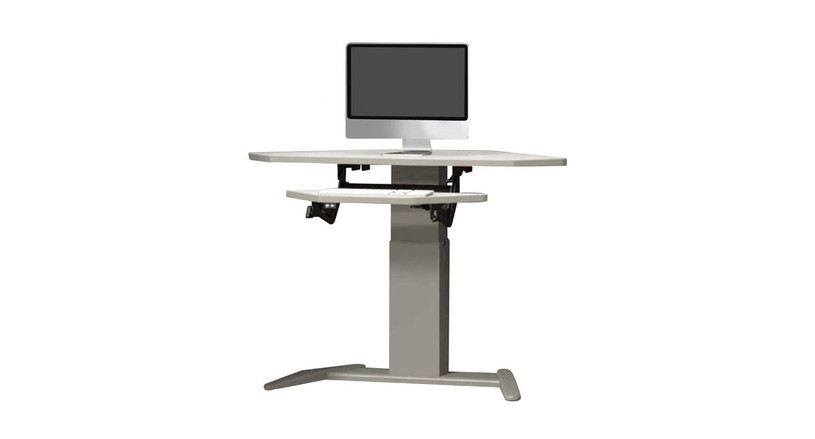 Custom-made electric desk is ideal for a variety of workstations