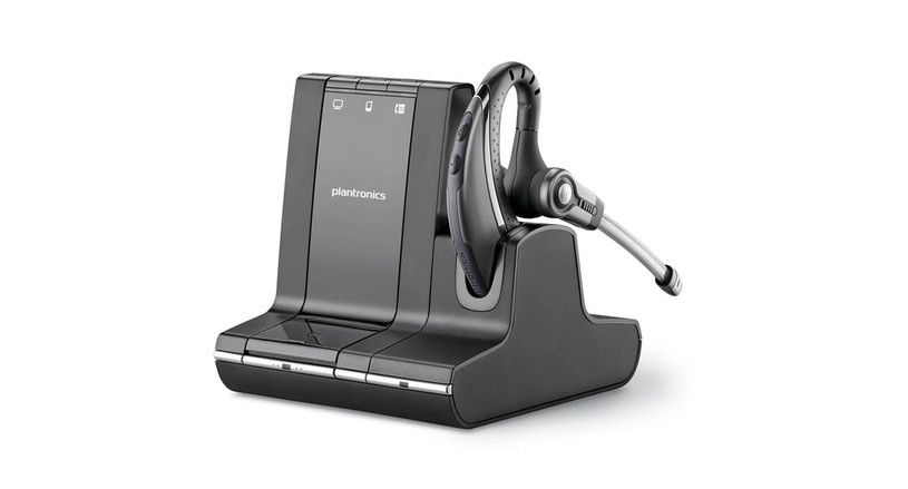3-in-1 system connects office phone, PC calls, and mobile phones on one headset