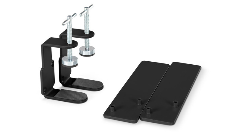 Acoustic Privacy Panel Mounting Hardware by UPLIFT Desk lets you install your Acoustic Privacy Panels easier than ever.