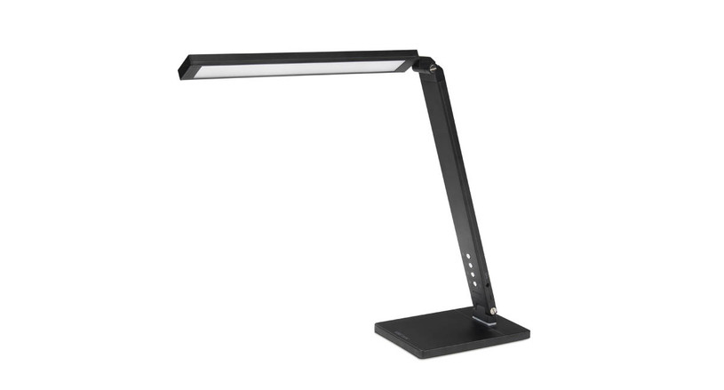 The Illuminate LED Task Light's high performance LED components make for a concentrated light source