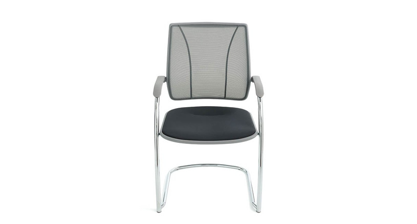 The Diffrient Occasional Multipurpose Side Chair delivers more ergonomic seating to offices everywhere