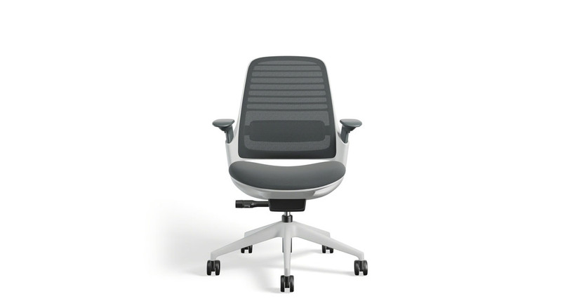 Enjoy more supportive seating with the Steelcase Series 1 Task Chair