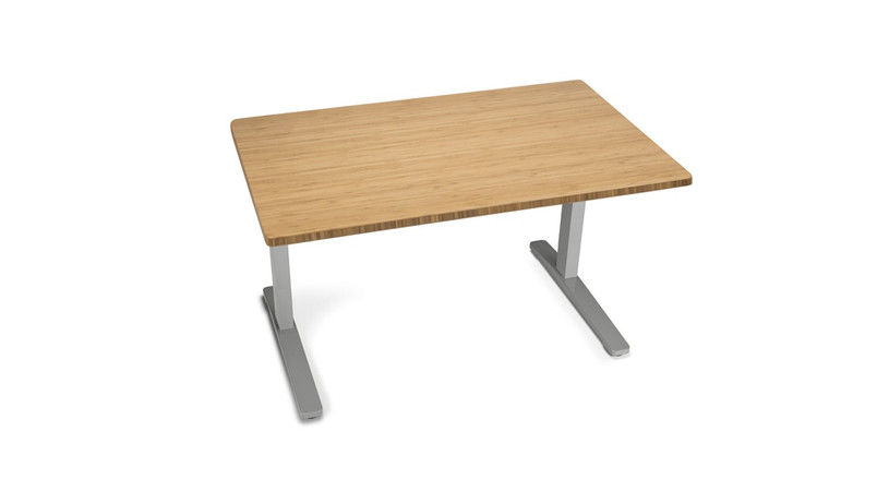 Give your stuff the space it needs with a matching 2-Leg Side Table by UPLIFT Desk