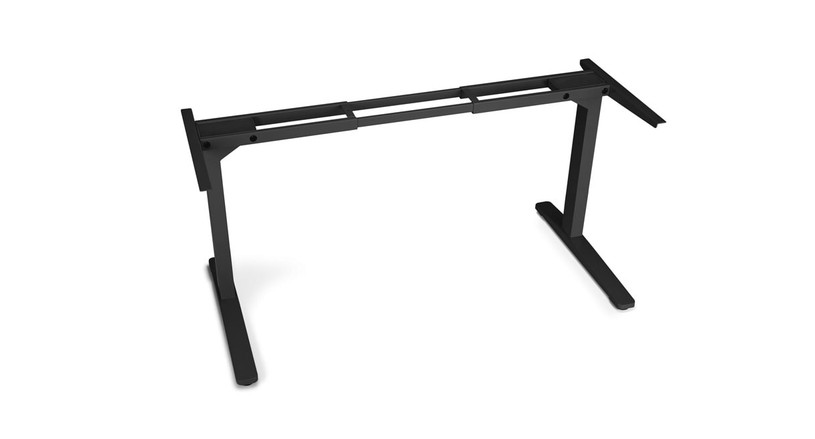 Start building your side table from the ground up with a 2-Leg Side Table Frame by UPLIFT Desk