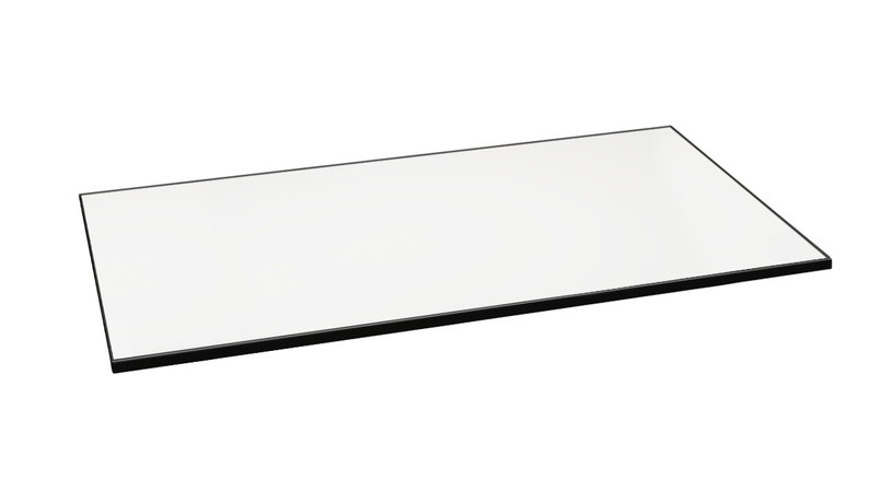 The Whiteboard Desktop by UPLIFT Desk gives you a wide, open space to write notes, doodle, and keep To-Do lists