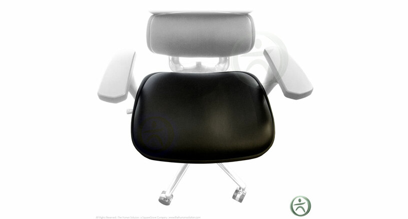 Replace your seat with a Raynor Ergohuman Chair Replacement Leather Seat for LE9ERG and LE10ERGLO chair models