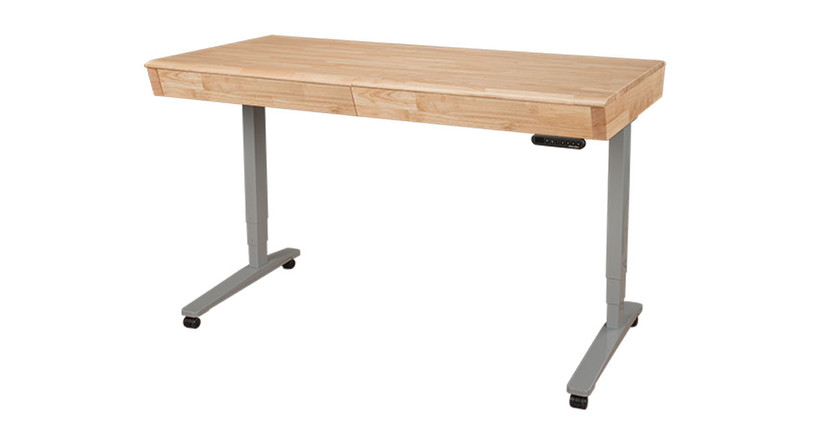 Craft in comfort with the Sit-Stand Crafting Table with Storage by UPLIFT Desk