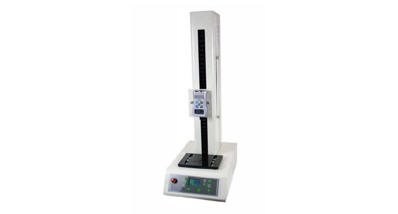 The Shimpo Vertical Motorized Test Stand has an impressive 220-pound capacity.