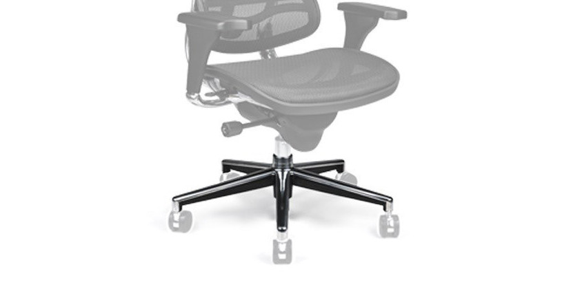 Give your Ergohuman Chair new life with a replacement base (casters not included)