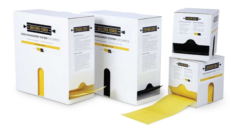 Get cut-to-length cable management in two convenient box sizes - 16.5' and 82' long.