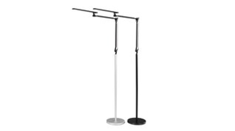 The E7 Floor Lamp brings all of the innovations of task lighting to a stand-alone frame.