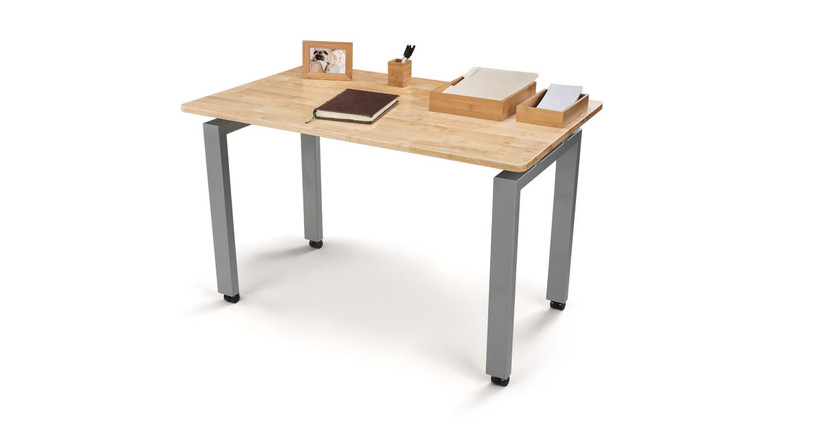 UPLIFT Desk's 4-Leg Fixed Seated Height Side Table adds extra table space to your office or work area.