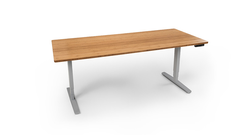 Get a Height Adjustable Conference Table by UPLIFT Desk in your choice of two or four legs.