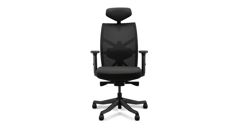 The budget-friendly and comfortable Facet Ergonomic Chair by UPLIFT Desk