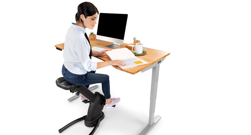The E3 Under Desk Exercise Bike by UPLIFT Desk is the perfect way to get you moving at your height adjustable desk