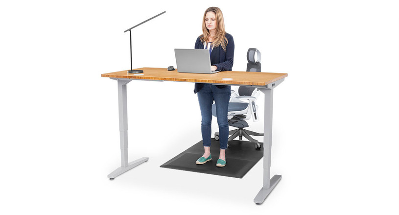 Sit or stand with your dual purpose mat