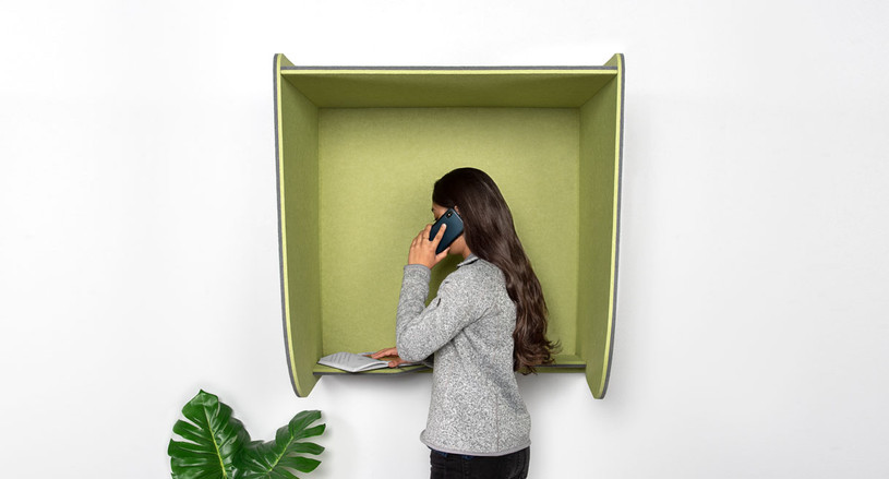 A bit of privacy and noise reduction for your calls in common areas