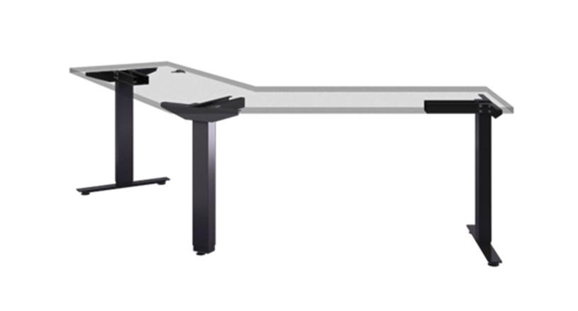eFloat Flex Desk Frame for 90-Degree and 120-Degree Tops