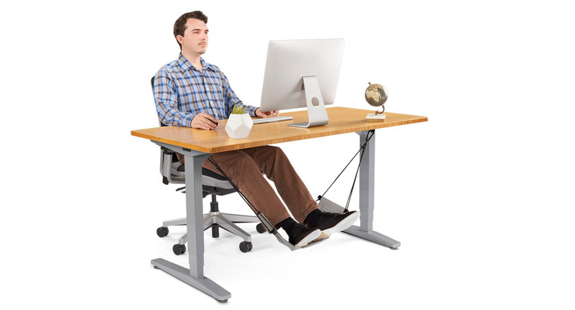Give your feet a rest with the Foot Hammock by UPLIFT Desk