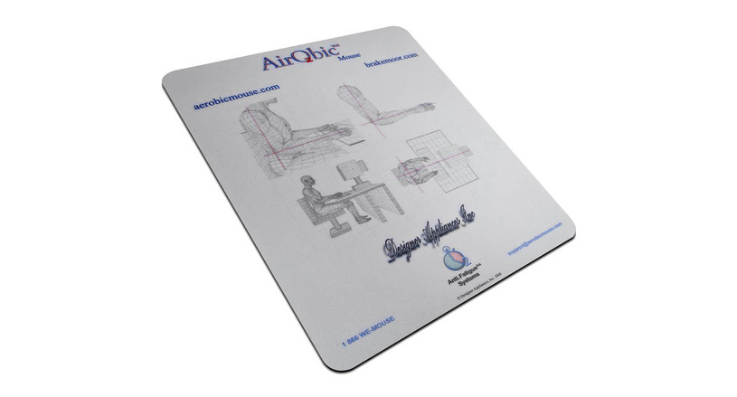 By encouraging users to engage the upper arm, the Quill-Well Extra Large Mouse Mat helps to maintain proper circulation when in a static posture