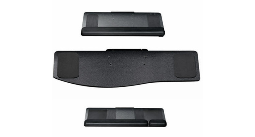 Keyboard trays come in a variety of shapes and sizes