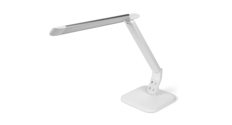The UPLIFT Desk LED Task Light's high performance LED components make for a concentrated light source