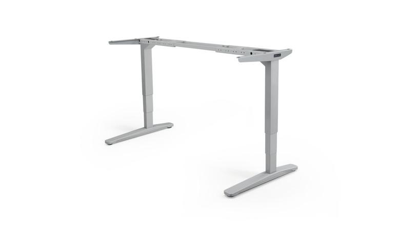 Gray UPLIFT V2 Standing Desk Frame
