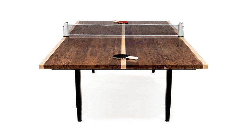 """The UPLIFT Sit-Stand Conference Room and Ping-Pong Table delivers 25.5"""" of height adjustment"""