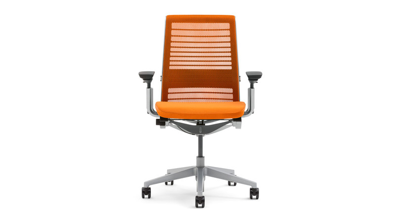 The Steelcase Think Chair is smart ergonomic seating in a pretty package
