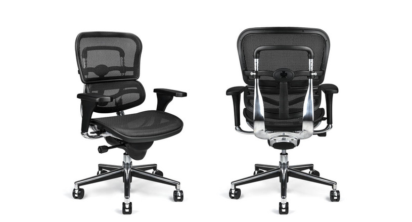 Get the work seating you need with the Raynor Ergohuman Mesh Chair model ME8ERGLO