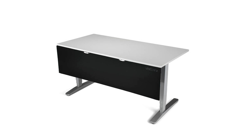 The UPLIFT Desk Modesty Panel & Cable Management features easy installation and use