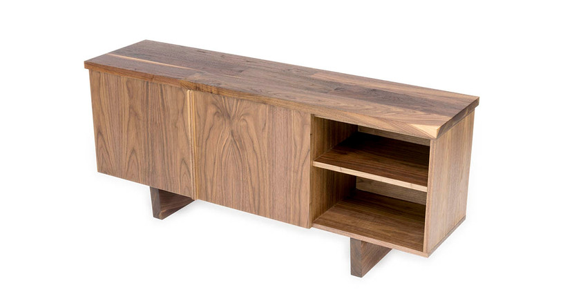 Handcrafted and made to order by expert woodworkers from beautiful Walnut or Maple wood