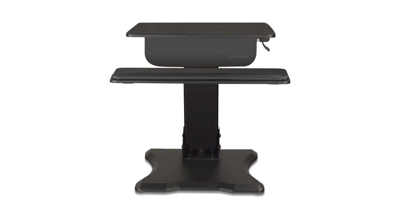 The UPLIFT Adapt Height Adjustable Standing Desk Converter is the answer to all your workstation woes