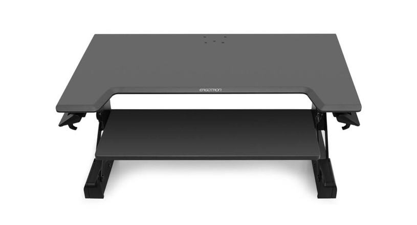 """Sturdy and solid platform allows for 15"""" of height adjustment"""