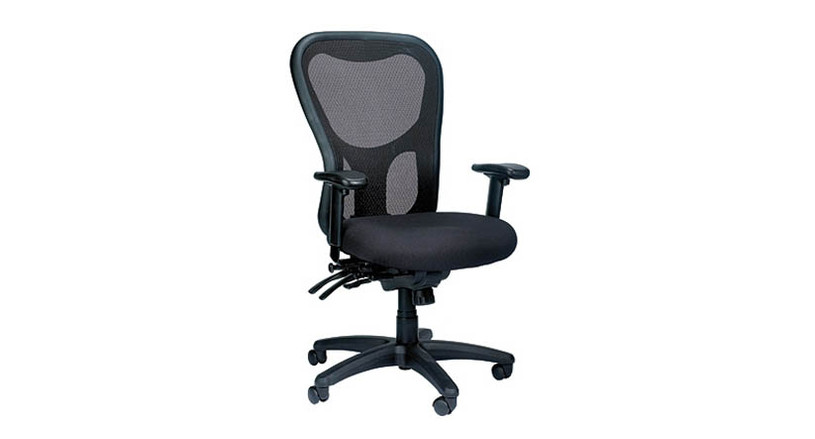 The Eurotech Apollo MM95SL Mesh Chair features a new and improved seat slider for additional comfort control