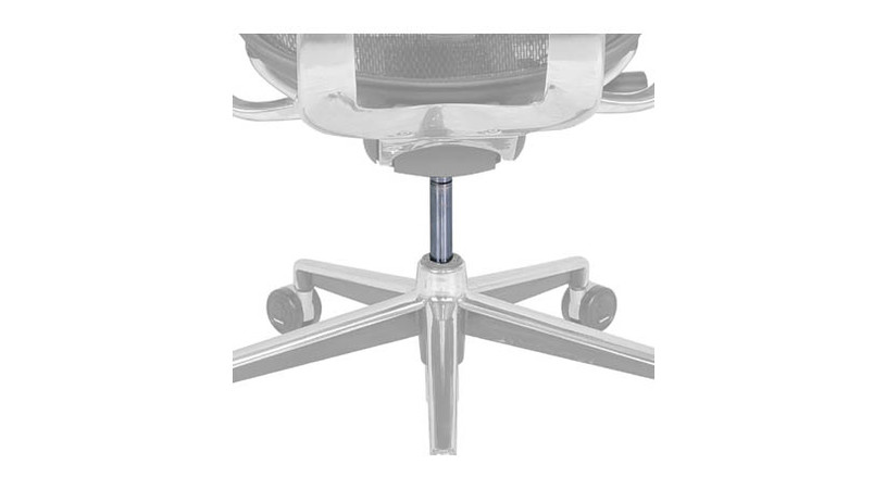 The Raynor Ergohuman Cylinder is available as a replacement part for Raynor Ergohuman chairs