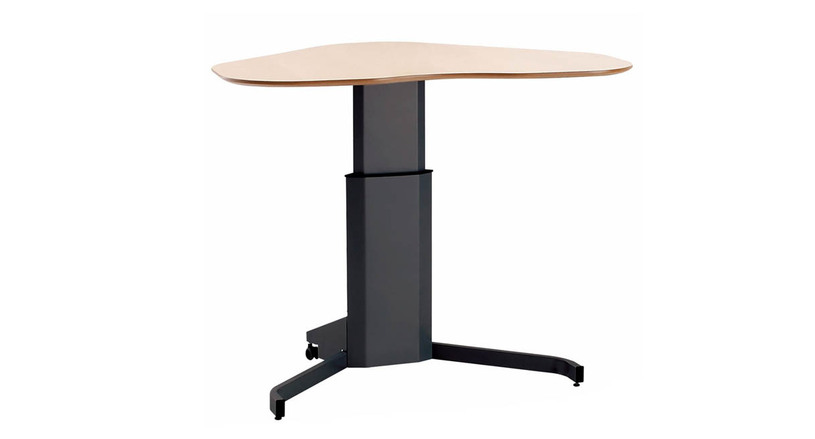 Cost-effective pedestal standing desk