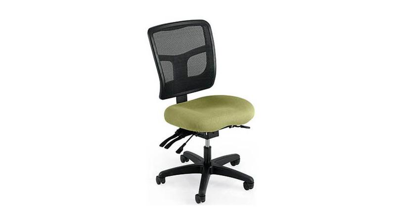 Featuring a mild saddle-contoured seat cushion