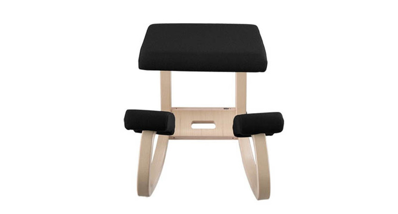 """Designed with the Balans concept to encourage """"active seating"""""""