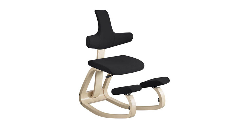 Allows the user to move between a variety of different sitting positions throughout the day