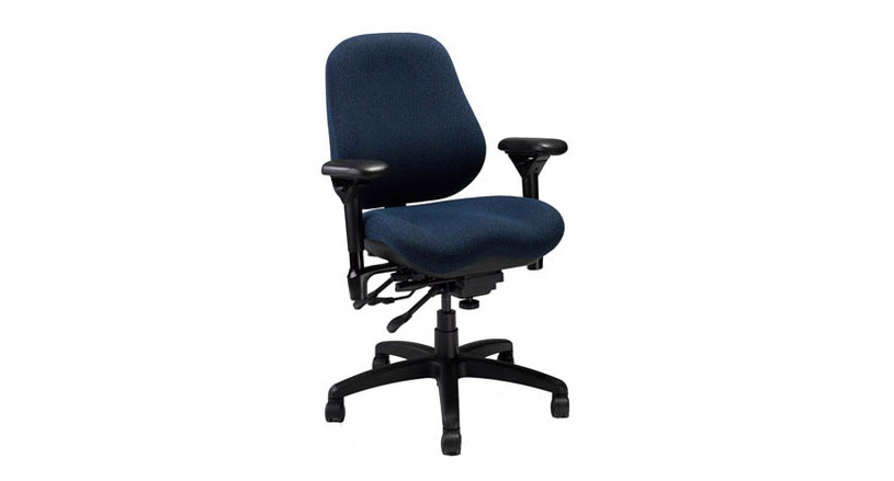 Backrest angle and depth adjustments makes this chair a perfect fit for petite sitters