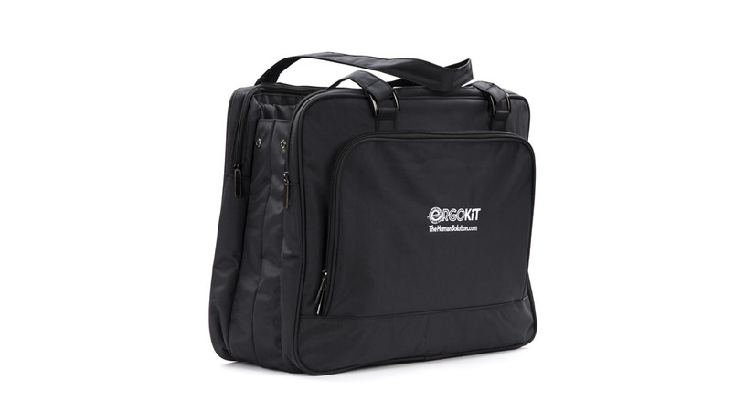 Heavy-duty carrying bag makes transporting tools easy