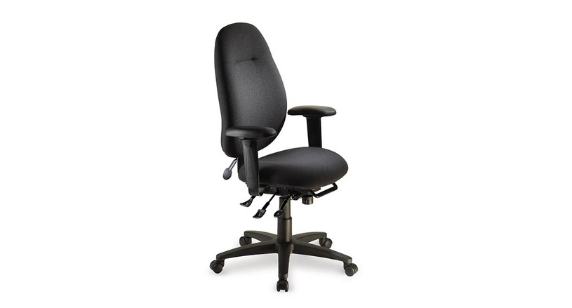 Available with a number of options, including air lumbar support and different arms