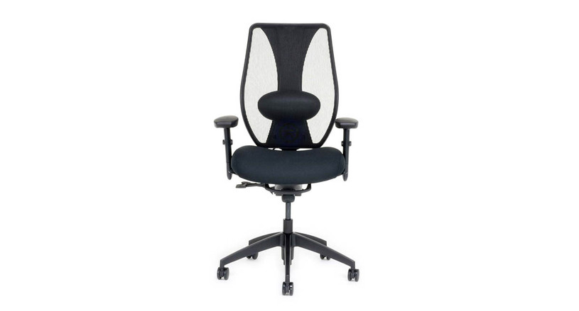 The ergoCentric tCentric Hybrid Chair ships fully assembled and is available with free 30-day returns
