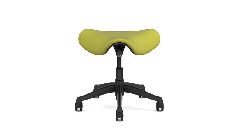 Humanscale Freedom Saddle Seats come in a wide variety of color options