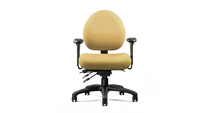 Adjustable seat height, depth, and tension