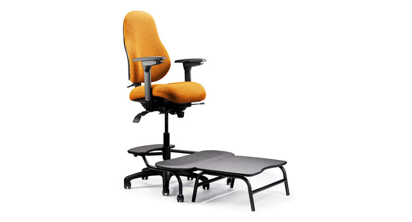 Neutral Posture NPS8000 Series chair was designed by an ergonomic expert, delivering top-of-the-line support and all-day comfort